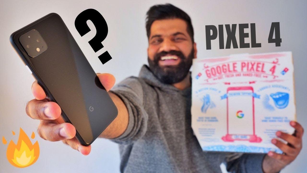 Download Google Pixel 4 Unboxing & First Look   RADAR + Crazy Camera   Pizza Edition🔥🔥🔥