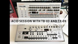 Acid Session with Roland TB-03 and TR-09