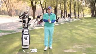 Уроки гольфа с Константином Лифановым. Урок 4. Как правильно держать клюшку.