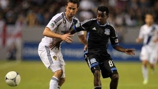PLAYOFF HIGHLIGHTS: San Jose Earthquakes vs LA Galaxy, November 7, 2012