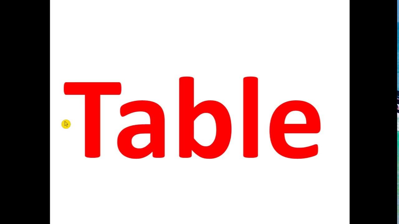 hsc ict c-4.8 Table in html | chapter-4 | টেবিল এইচ টি এম এল দিয়ে