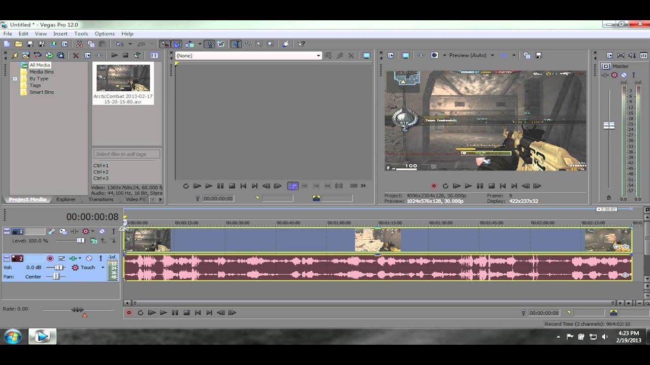 Sony vegas best audio render settings