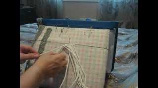 Плетение пояса в технике макраме. Урок 1.(http://vipkashpo.com Плетение пояса в стиле макраме. Этап 1. Все о возможностях макраме на сайте http://vipkashpo.com., 2013-01-04T17:31:22.000Z)