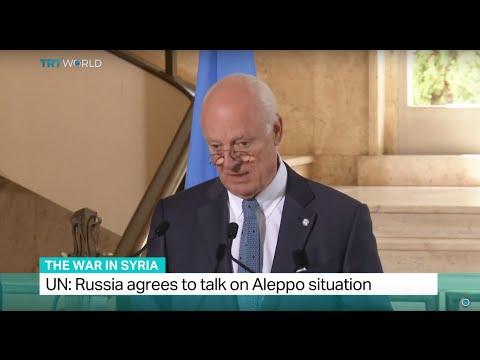 The War In Syria: UN says Russia agrees to talk on Aleppo situation, Ediz Tiyansan reports