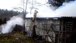 Пожар на дачном участке