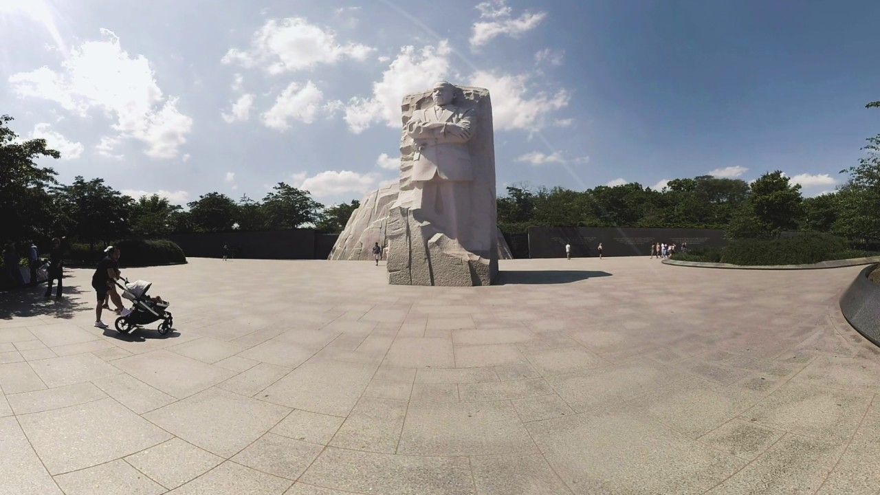 Martin Luther King Jr Memorial Washington Dc 360 Video Youtube