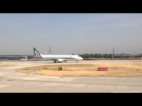 Alitalia Cityliner Take Off from London City