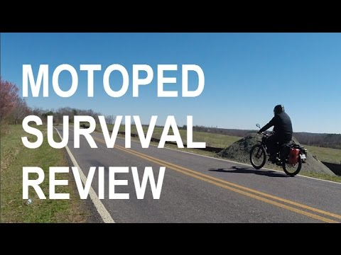 MOTOPED SURVIVAL Review (The Perfect Bug Out Vehicle?)