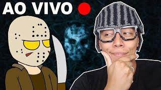 OS CAÇADORES DE JASON - Friday the 13th the Game ( AO VIVO )