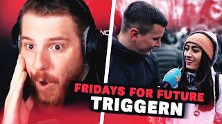 Unge REAGIERT auf Aaron TRIGGERT bei Fridays for Future 🌿 ungespielt Reaktion