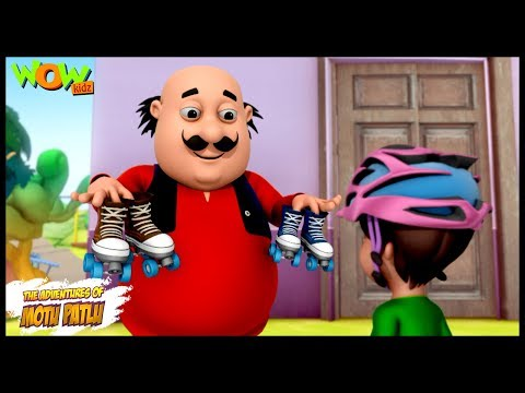 Motu The Roller skate Coach -Motu Patlu in Hindi - 3D Animation Cartoon for Kids -As on Nickelodeon