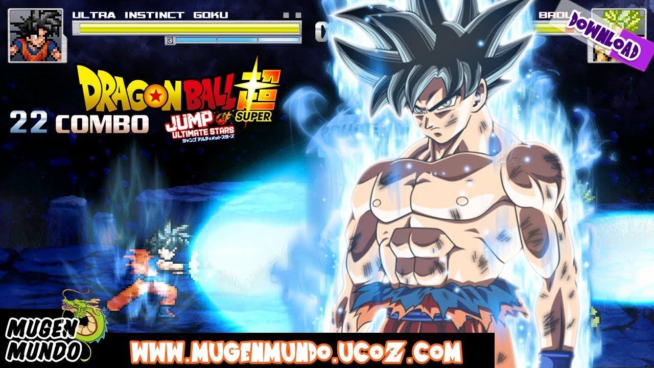Goku Ultra Instinct Jus by Mythos Mugen (DOWNLOAD) #Mugen #AndroidMugen  #MugenAndroid #MugenAndroid