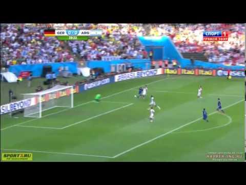 "Final Piala Dunia 2014 "" Jerman vs Argentina 1 - 0 """