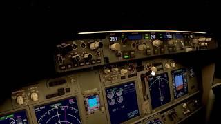 X-Plane 11 VR: Snowy takeoff