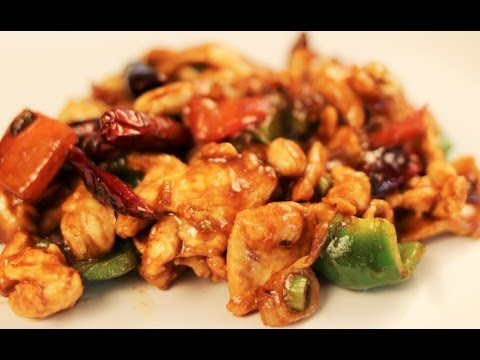 Kung Pao Chicken Recipe-Chinese Cooking-Dinner for 2