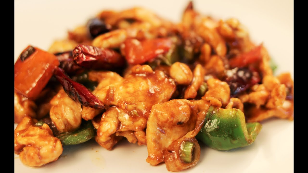 Kung Pao Chicken Recipe-Chinese Cooking-Dinner for 2 - YouTube