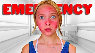 *911* ALLERGIC REACTION SENT ME TO THE EMERGENCY ROOM! *MY MOM IS REALLY SCARED*