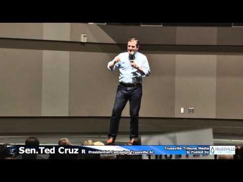 Ted Cruz Presidential Campaign Speech 12 20 2015 Trussville Alabama