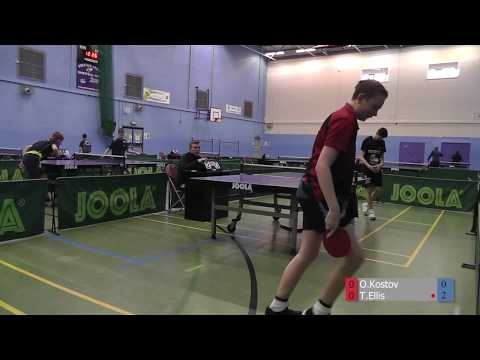 2018 Preston Championships Junior Semi-Final: Ogi Kostov vs Toby Ellis