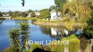 HD Zi6 Kodak Camera hand held sweep of lake