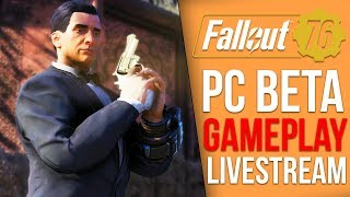 Finding the Enclave - Fallout 76 PC BETA Playthrough - Part 3 (Fallout 76 Livestream)