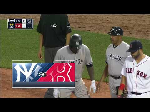 Yankees Score 3 In 16th To beat the Red Sox- Highlights