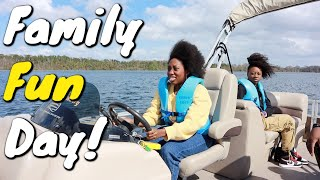 She's Driving A Boat | Family Fun Day!