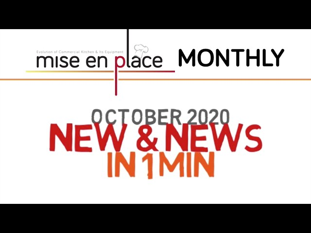 NEW&NEWS in OCTOBER 2020