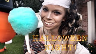 COTTON CANDY MAKING! - HALLOWEEN NIGHT!