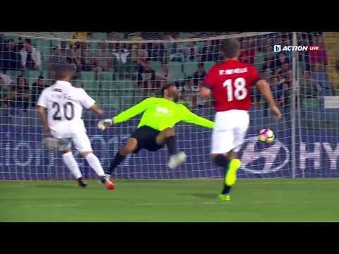Dimitar Berbatov's United Stars vs Luis Figo's All Stars Highlights