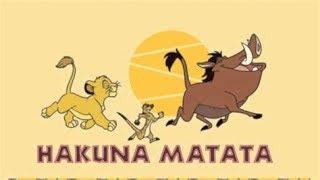 [Disney 声の王子様]ハクナ・マタタ(ライオンキング)畠中祐