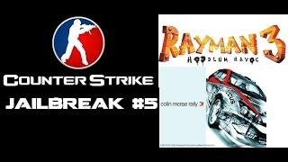 CS 1.6 Jailbreak #5 + Rayman 3, Colin McRae Rally 3