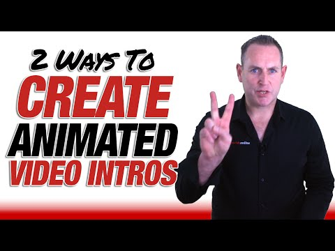 2 Ways How To Create Animated Intros For Your YouTube Videos