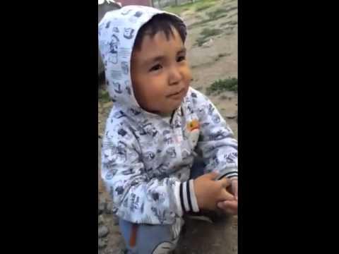 Казахский пацан матерится