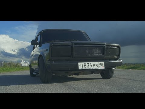 BLACK JACK #5. Race on Russian Car / Гонки на Жигулях