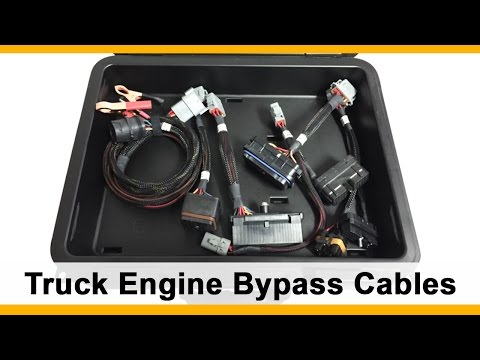 Commercial Truck Engine Bypass and Programming Cables for CAT, Cummins, Detroit, and More