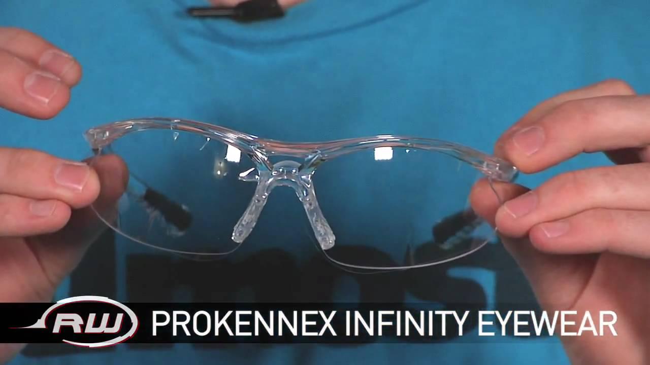 3ad4e2519e Prokennex Infinity Racquetball Eyewear - YouTube
