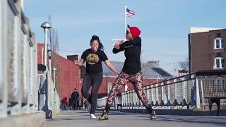 Poiison Ivvy and Pumpkin in Red Hook Brooklyn Flexing to FDM   Mastermind x YAK