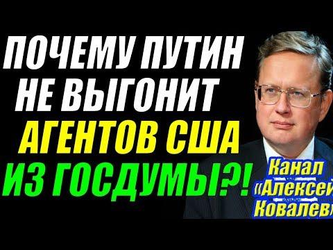 Михаил Делягин - Почему ПYTИH не выгонит агентов S.Ш.A из правительства?! 25.11.2017