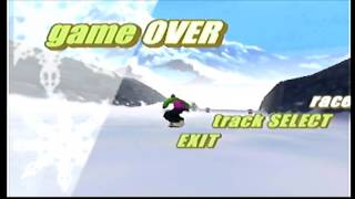 Road To World Record: Twisted Edge Extreme Snowboarding | Easy Slider (Easy) [N64]