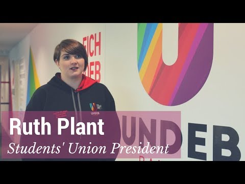 Meet Ruth Plant - Students' Union President
