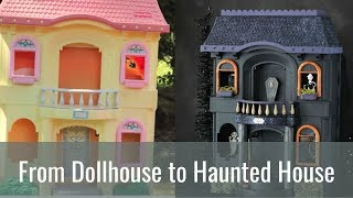 Cheap Halloween Decorations - Haunted House