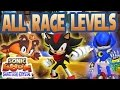All Race Levels Gameplay Sonic Boom Shattered Crystal mp3