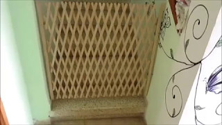 Калитки (детские ограждения) для лестниц** Обзор калитки-гармошки Twigy