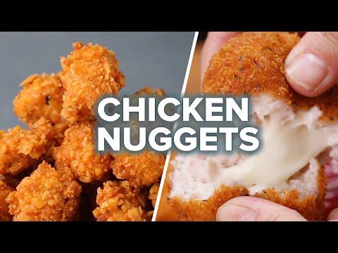 Chicken Nuggets 4 Ways
