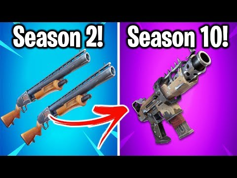 THE BEST WEAPON FROM EVERY SEASON OF FORTNITE!