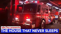 The house that never sleeps: 24 hours with the FDNY