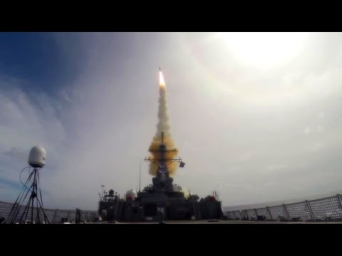 US Navy Successfully Tests Upgraded Aegis Ballistic Missile Defense System