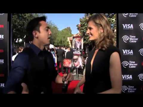 Stana Katic talks