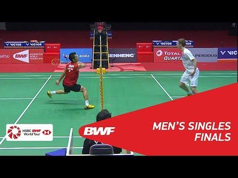 MS | Viktor AXELSEN (DEN) [1] vs Kenta NISHIMOTO (JPN) | BWF 2018
